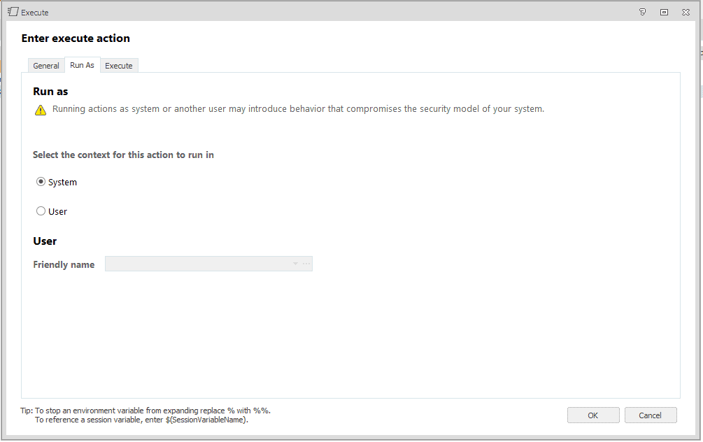 automate installation of trend
